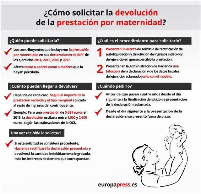 detalles-como solicitar-la-devolucion-prestacion-por-maternidad